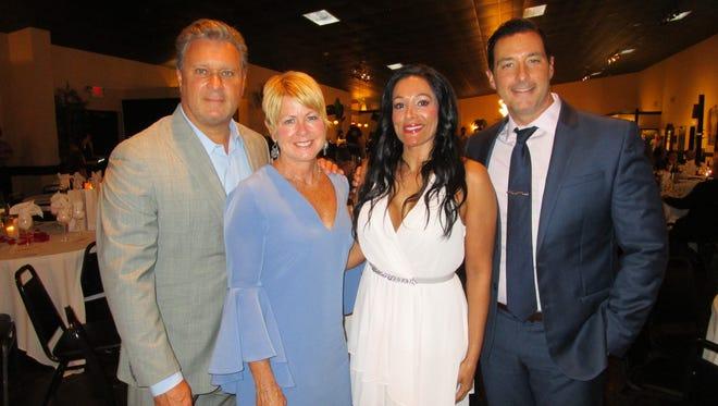 Bob and Judi Terzotis, Anna Uriegas and Eric Richard