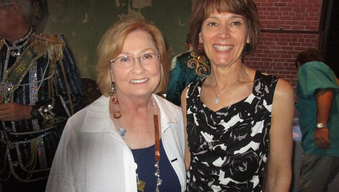 Beth Guilbeaux pictured with Mary Romagosa at an event in Lafayette.