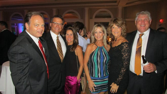 Bruce Bown, Pat and Susie Reagan, Brees Greer, Denise Durel and John Fenstermaker