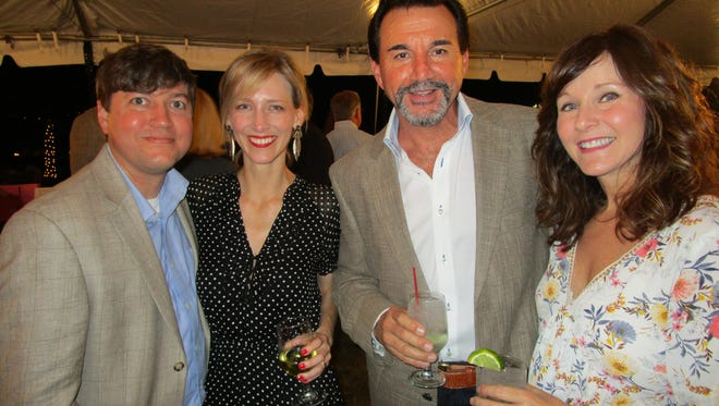 Ron and Julie Chauvin, Brandon Broussard and Jo D. Breaux