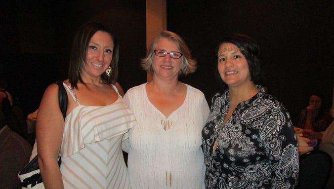 Shari Puterman, Lisa LeBlanc and Billie Lacombe