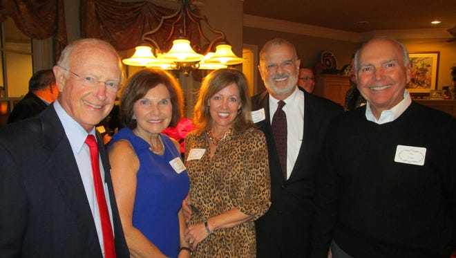 Terry and Jan Cromwell, Kitty and Ed Nagem and David Welch