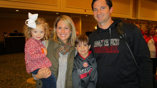 Elle, Lindsey, Thomas and Michael Desormeaux