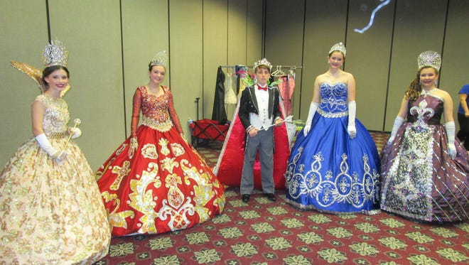 Avery Munnerlyn, Claire Hader, Colin Castille, Emily LeBlanc and Amy Bourque