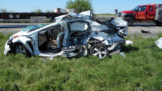 A 2016 fatal wreck in Robstown killed three Houston women. Texas leads the nation in fatal wrecks.