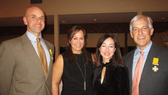 Jason and Kelly Guidry, Beth and Michael Ardoin
