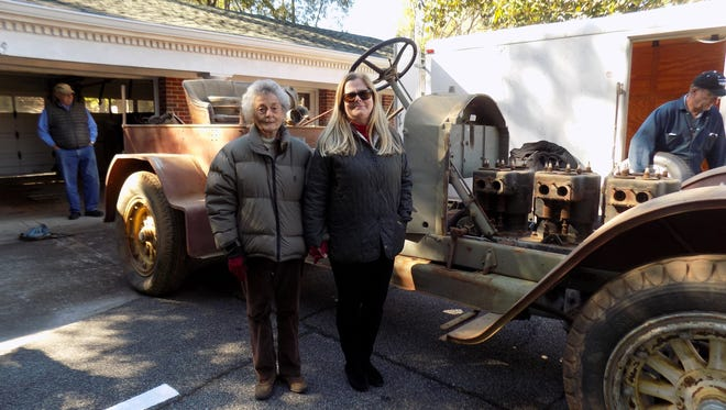 The 1916 American LaFrance Fire Engine Type 12 is set to receive a full restoration.