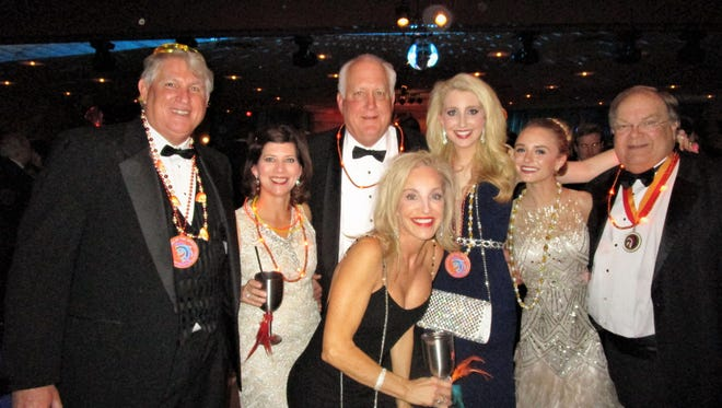 John Fenstermaker, Renee Reaux, Cliff and Marianne and Ann-Riley Louise Lane, Jacqueline Robin and PJ Voorhies