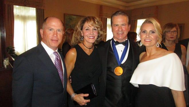 Lenny and Christine Lemoine, Julian and Colleen Bailes