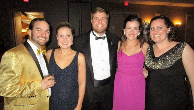Marc and Erin Alleman, Christian Leach, Mary Katherine Brown and Allison Leach