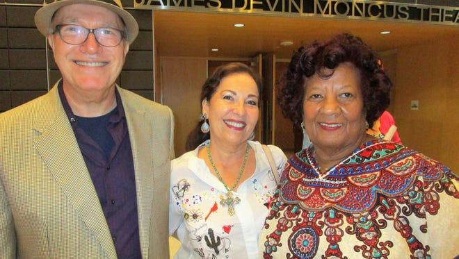Dennis Ward, Kard Zide and Gethsemane Campbell
