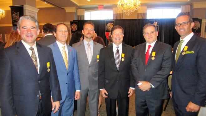 Joel Babineaux, Stanley Blackstone, John Morvant, Boyd Anderson, Michael Haydel and David Barcyzk