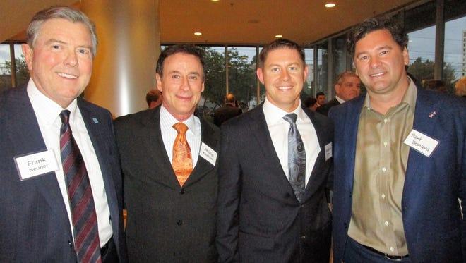Frank Neuner, Phillip Kaufman, Donovan O'Pry, II and Bart Bernard