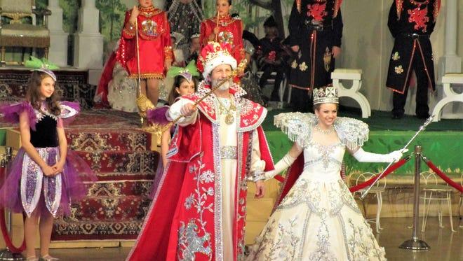 King Richard, Stanley Blackstone and Queen Berengaria, Alexa Gray