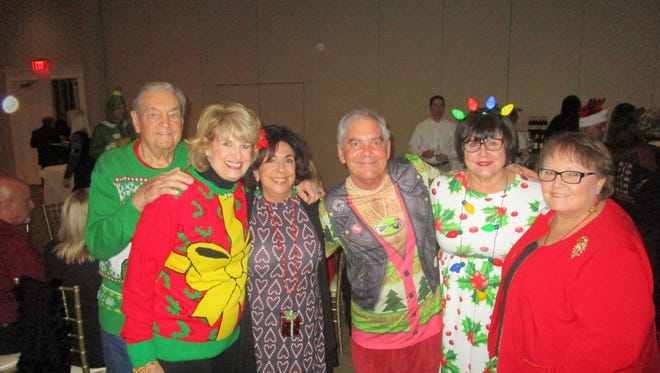 Rod and Melanie Lunn, Penny McGehee, Don and Stephanie Bacque and Jean Johnson