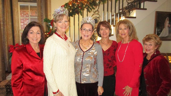 Jeanie Rush, Renee Borne, Lynn Crochet, Mary Romoagosa, Connie Guidry and Brenda Trahan
