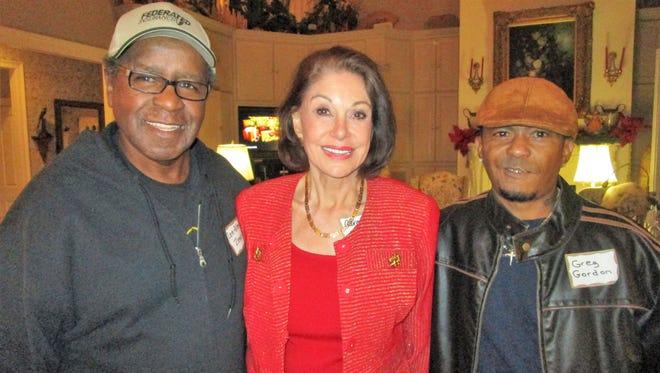 Lee Allen Zeno, Carolyn French and Greg Gordon