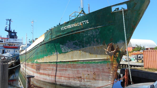 The U.S. Customs and Border Protection Agency has donated the 180-foot motor vessel Voici Bernadette to St. Lucie County's artificial reef program. The St. Lucie County Board of County Commissioners recently approved the acceptance of the vessel unanimously.