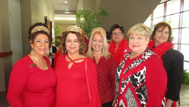 Suzanne D'Ambrosio, Angie Moormann, Amy Davis, Ann Thornton, Susan Martin and Angie Trahan