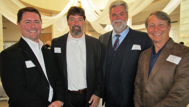 Randy Carroll, Troy Knight, Daryl Myers and Scott Coco