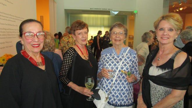 Jeannie Kreamer, Bettie Sonnier, Sylvia Perkins and Judy Kennedy