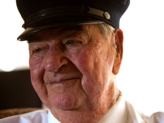 Retired volunteer Glendale firefighter, Charlie Bootz, started working with the Glendale Fire Department in 1949 and is the oldest, living volunteer firefighter.
