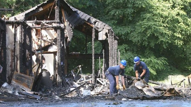 No injuries were reported in this early morning Webster fire.