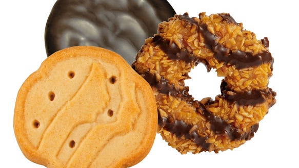 Some bars around Metro Detroit are pairing Girl Scout