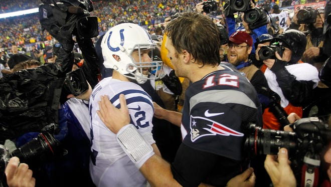 The Cots and Patriots will face off on Sunday, Oct. 18.