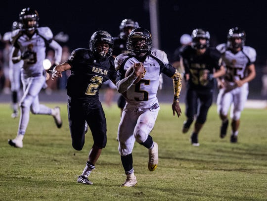 FILE -- Church Point running back Frederick Williams