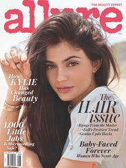 Kylie Jenner on the cover of the August 'Allure.'
