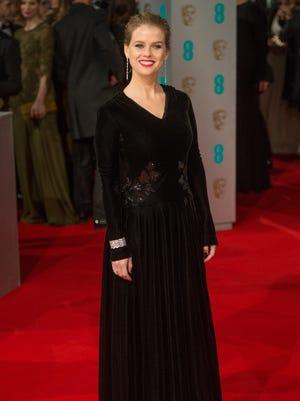 Alice Eve at the British Academy Film Awards on Feb 8.