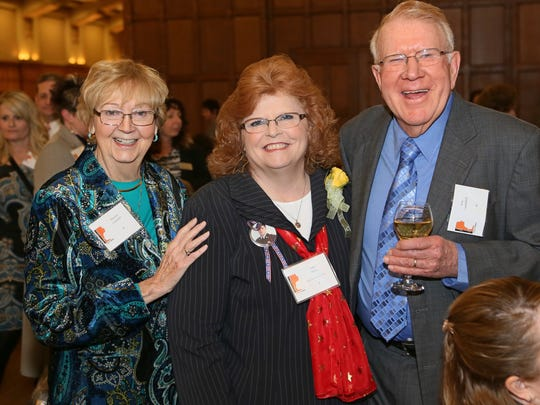 Marlene Campbell, Pam Mow and Ron Campbell