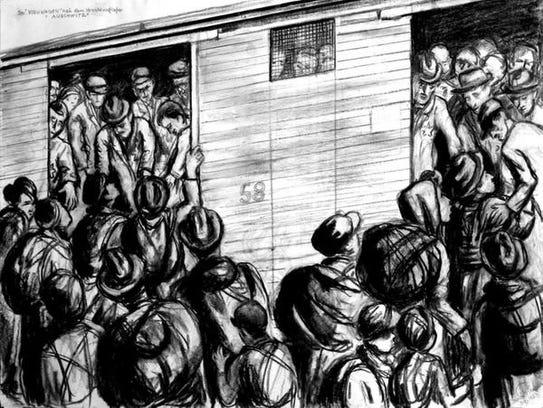 Cattle Train to Auschwitz