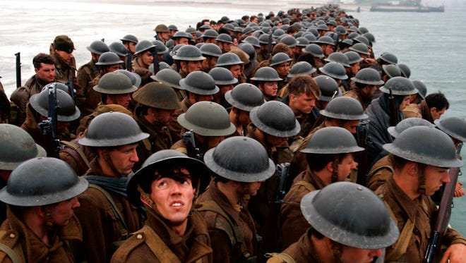 """""""Dunkirk"""" opens Thursday at Regal West Manchester Stadium 13, Frank Theatres Queensgate Stadium 13 and R/C Hanover Movies."""