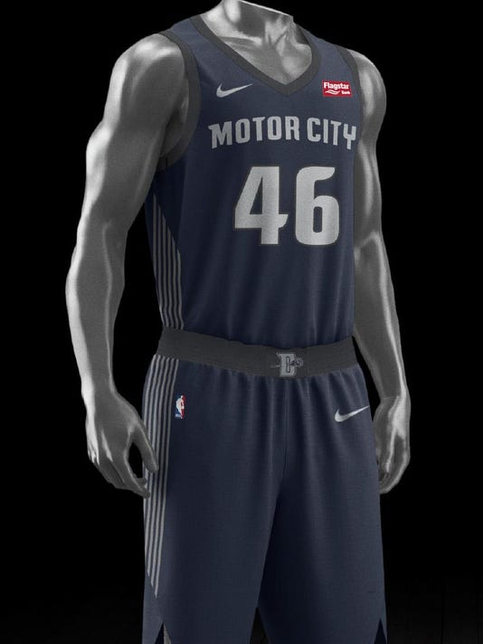 e0476bebe Pistons unveil new Nike  Motor City  uniform
