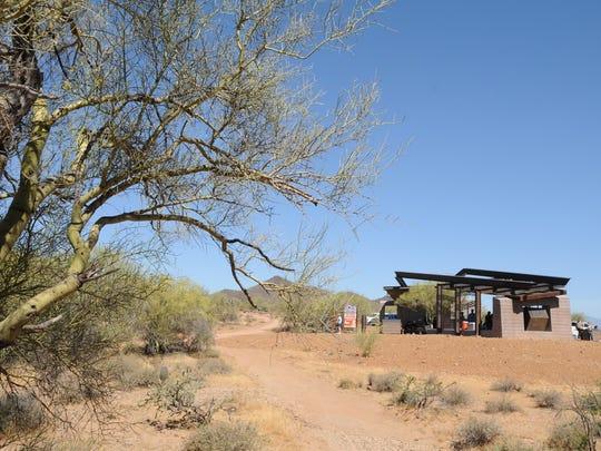 The new Desert Hills Trailhead at Phoenix Sonoran Preserve