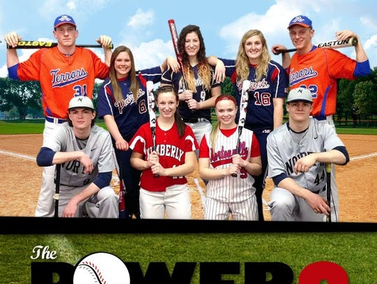 Appleton West standout Danny Jansen (31) was a member of the Post-Crescent's Power 9 preseason baseball/softball team in 2013.