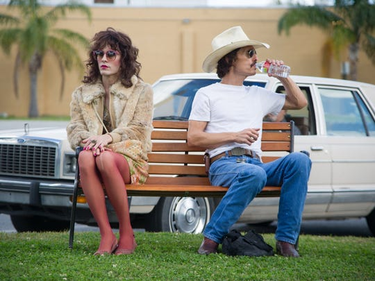 Jared Leto, left, and Matthew McConaughey in 'Dallas