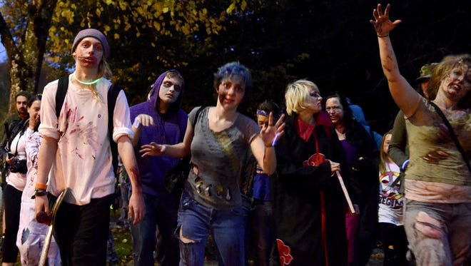 Zombies will roam the city during the Salem Zombie Walk on Oct. 22.