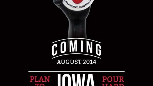 Craft beer company Left Hand Brewing is returning to Iowa.