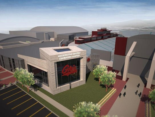 The $14 million Washington Grizzly Champion Center,