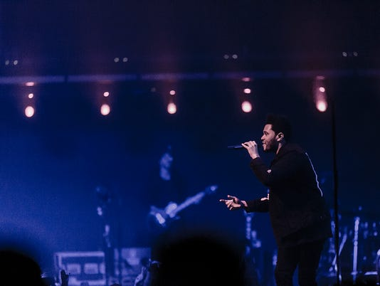The Weeknd performs at Talking Stick Resort Arena May 2, 2017