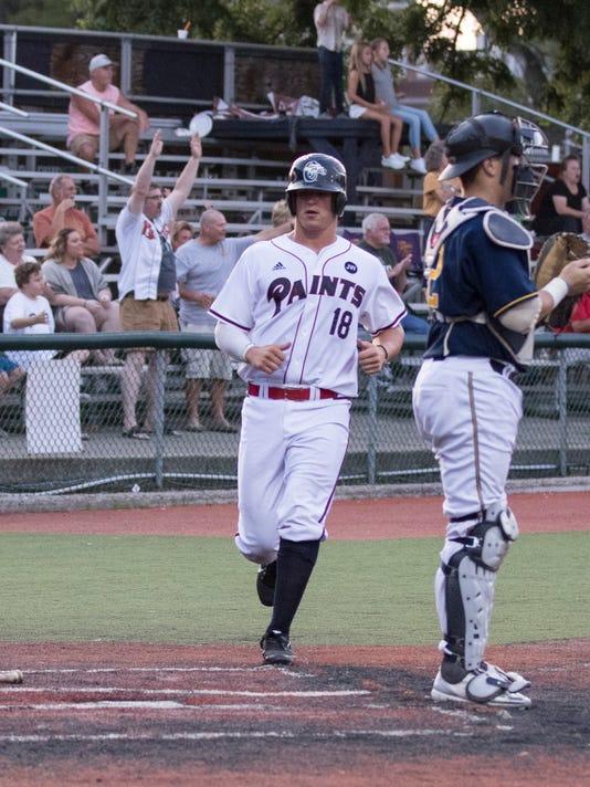 Baseball: Chillicothe Paints 5, Lafayette Aviators 3