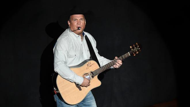 Garth Brooks performs at the Ryman Auditorium on Thursday, Sept. 8, 2016, in Nashville.
