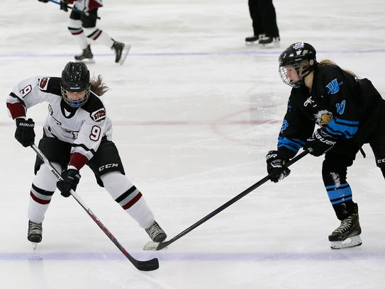 Area girls hockey rivals Central Wisconsin Storm and Wisconsin Valley Union (formerly known as the Point/Rapids/Marshfield Red Panthers) could be headed for a rematch in the WIAA tournament.