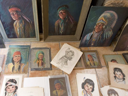 A collection of art found in a Scottsdale storage unit in 2003 turned out to be from the eccentric Flagg family's collection..