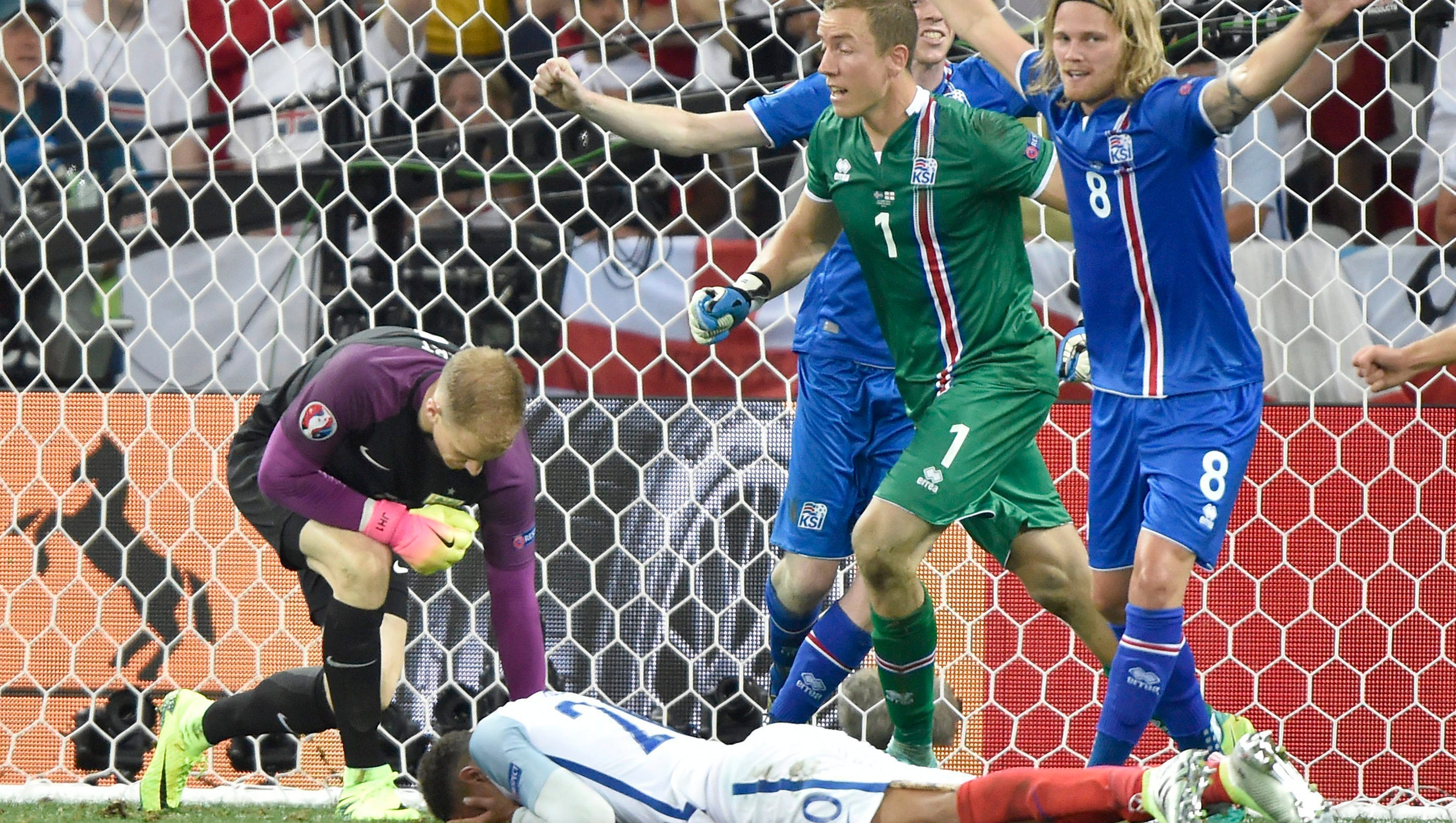 Iceland beats England 2-1 in shock of Euro 2016