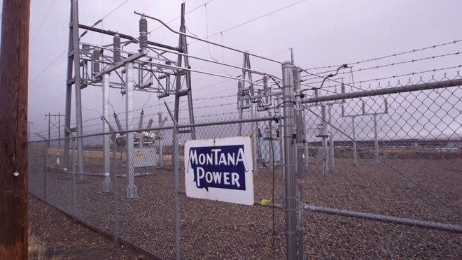 Montana Power Co. transmission facilities, such as this substation, were among the utility properties sold. Great Falls area dams, along with MPC's other dams and power generating plants were sold in December 1999 to PP&L Montana.