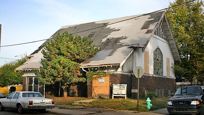 The Second Christian Church in the Ransom Place neighborhood was vacant for more than a decade. After an extensive refit, earlier this year it became a single-family residence.